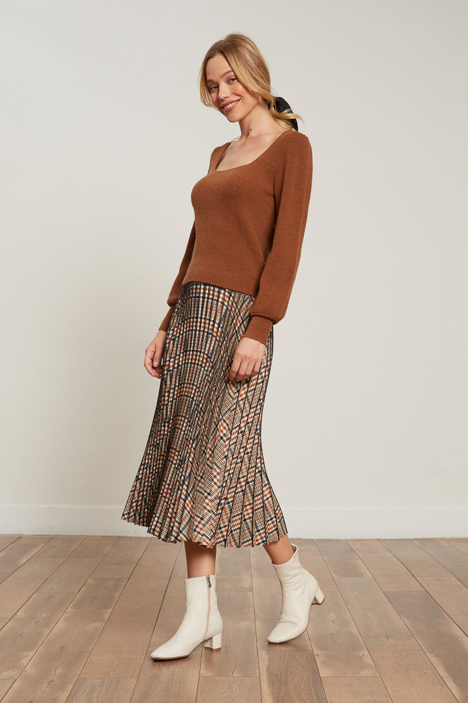 Nora Pleated Skirt