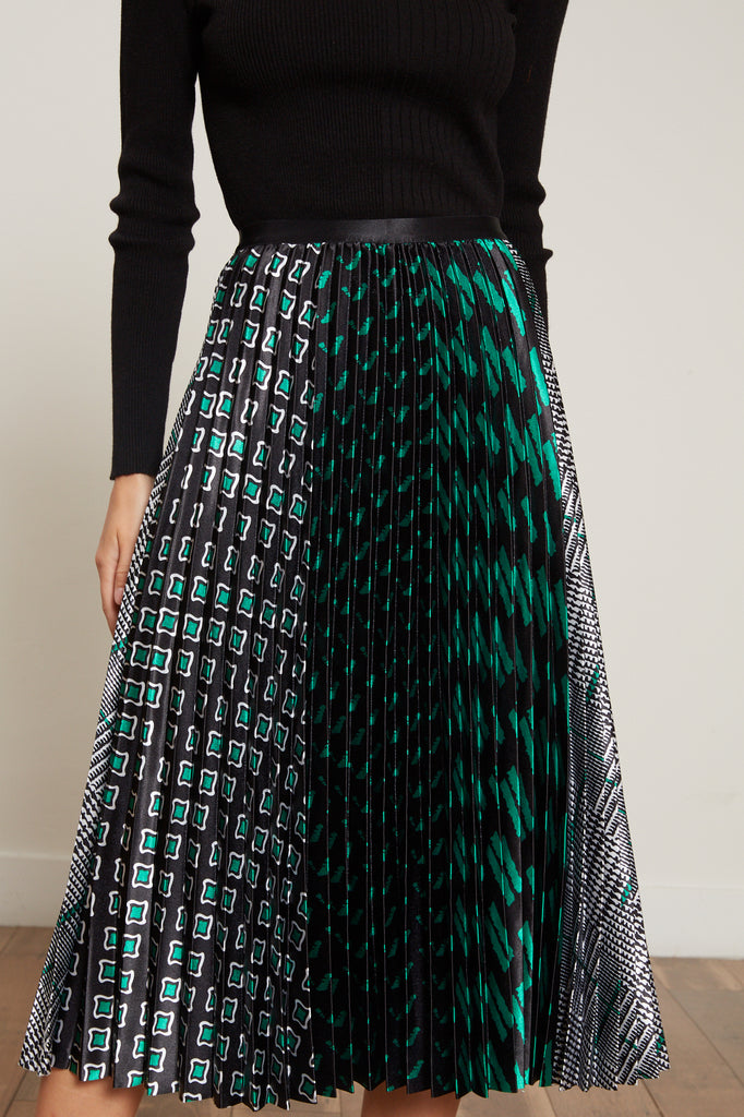 Amelia Pleated Skirt