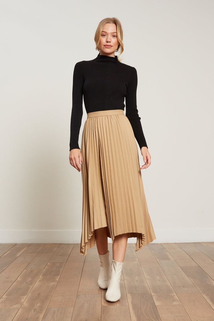 LUCY PARIS - Avery Pleated Skirt