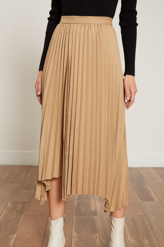 Avery Pleated Skirt