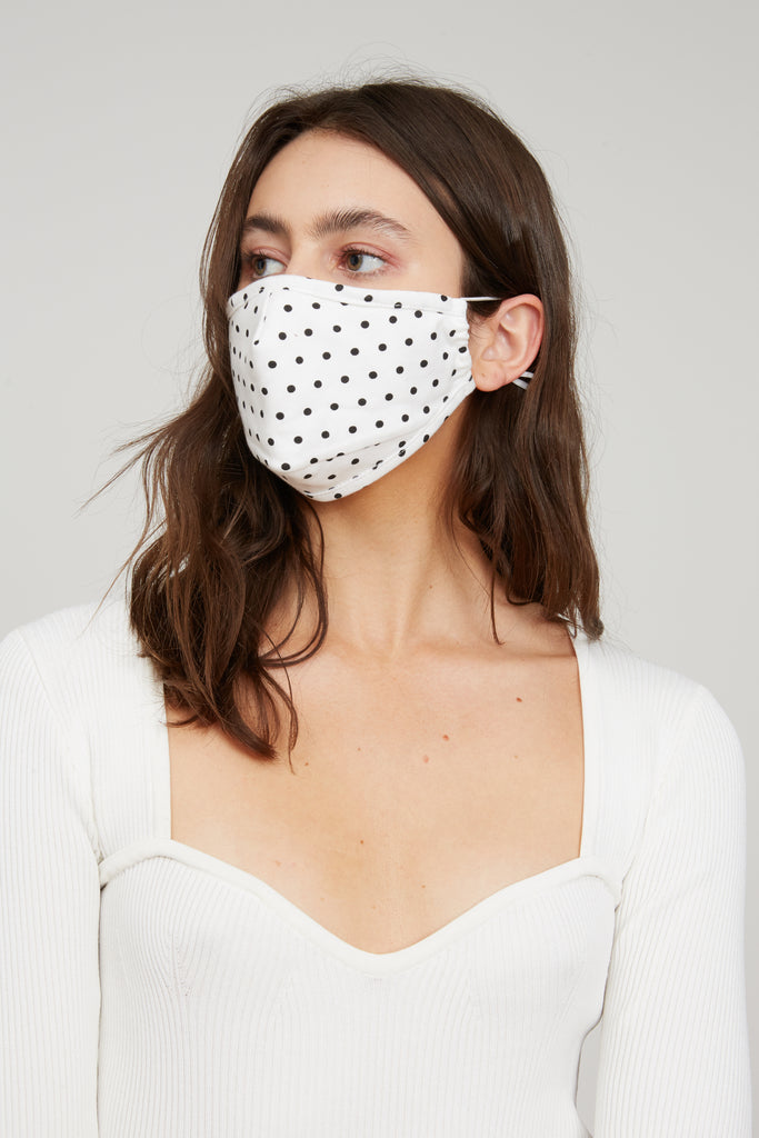 LUCY PARIS - Polka Dot Face Mask