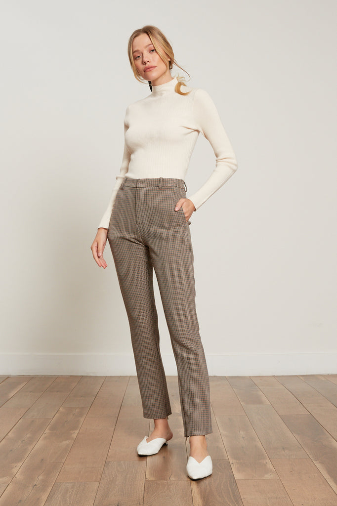 Phoebe Houndstooth Pants