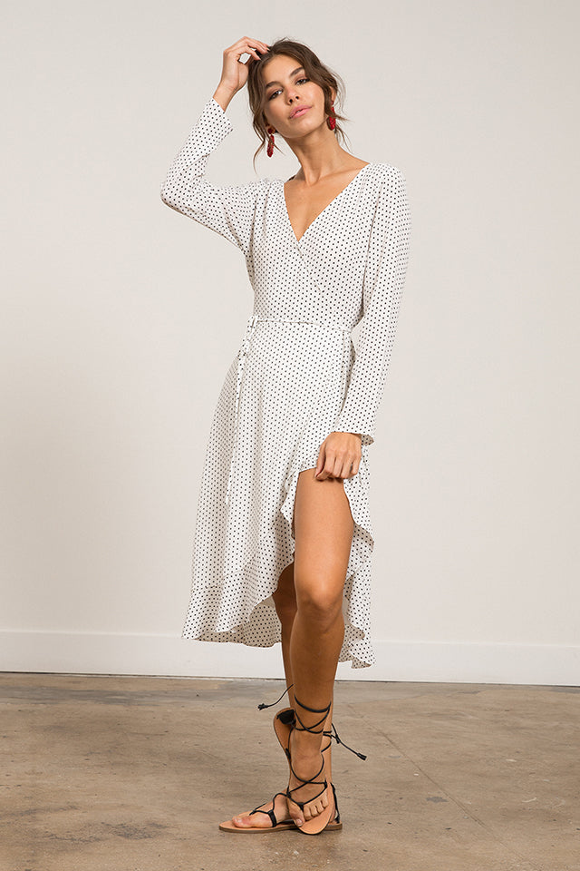 Lucy Paris - Hillary Ruffle Dress