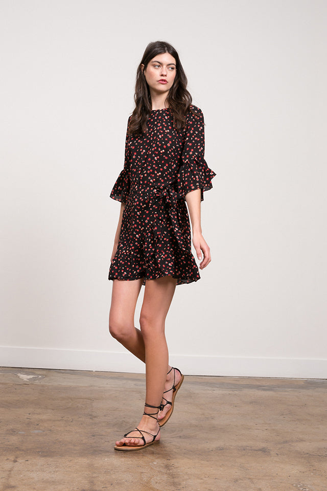 Lucy Paris - Vanessa Floral Wrap Dress