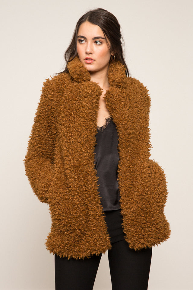 LUCY PARIS - Madilyn Faux Fur Coat