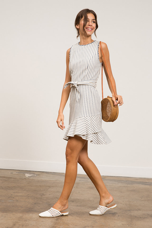 Lucy Paris -  Lara Striped Dress