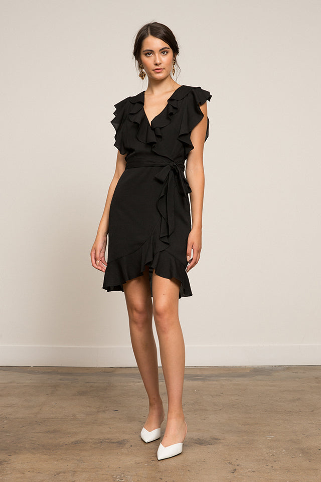 LUCY PARIS - Hermosa Ruffle Dress