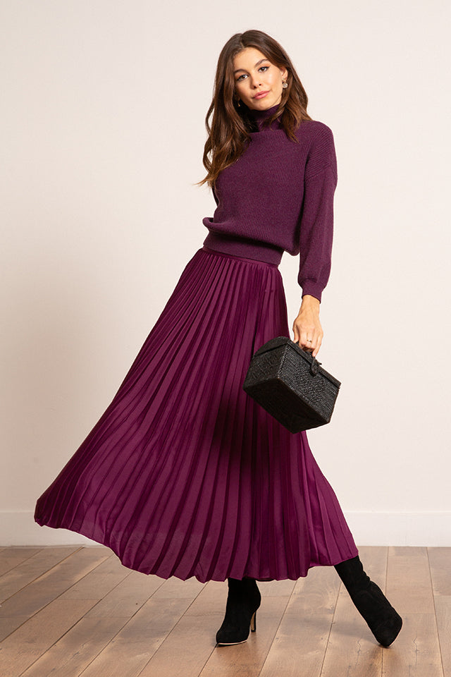 Lucy Paris - Talia Pleated Skirt