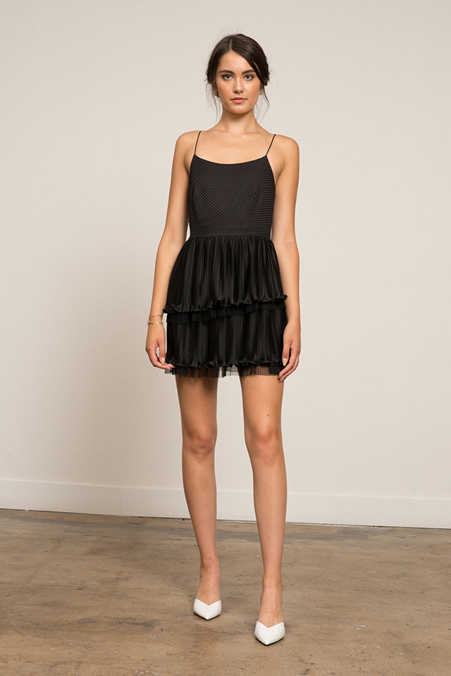 Lucy Paris - Kate Pleated Dress