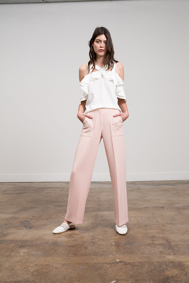Lucy Paris - Diana Wide Leg Pant
