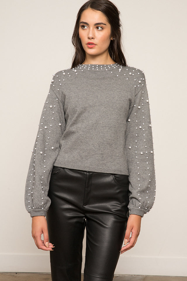 LUCY PARIS - Gemma Pearl Sweater