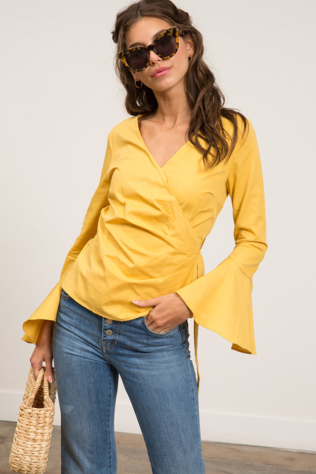 Lucy Paris - Summer Wrap Top