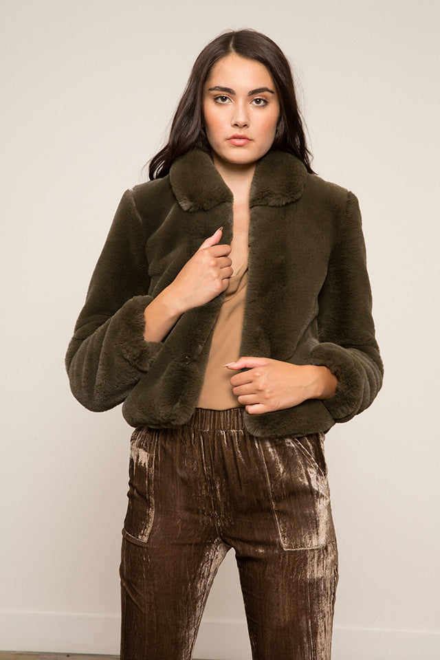 LUCY PARIS - Esmeralda Faux Fur Coat