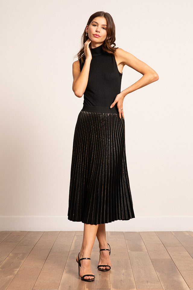 Lucy Paris - Eleanor Velvet Skirt