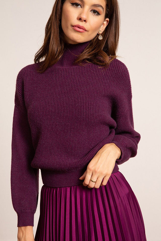 Lucy Paris - Erica Mock Sweater