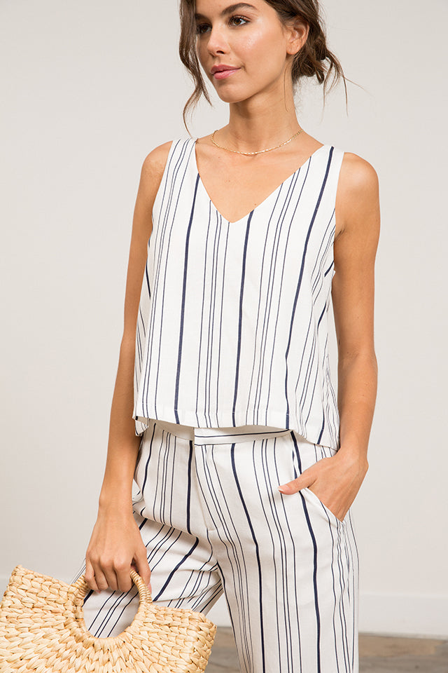 Lucy Paris - Taylor Striped Top