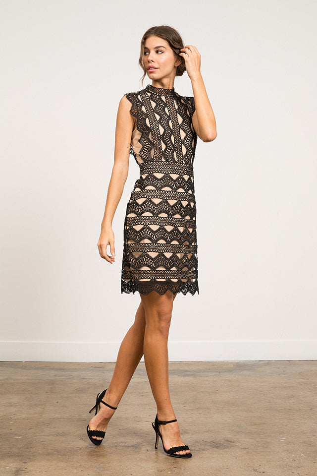 LUCY PARIS - Abigail Lace Dress