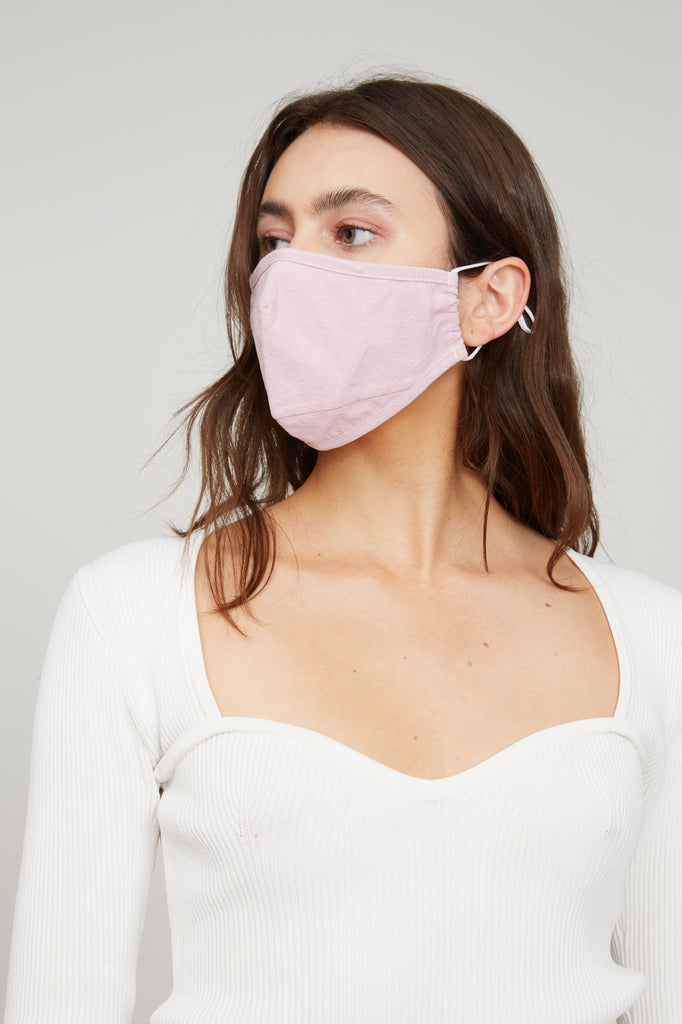 LUCY PARIS - Pink Face Mask