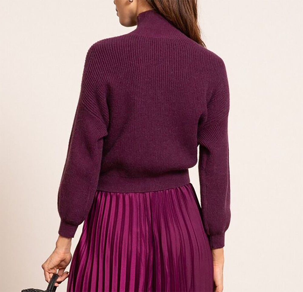 Erica Mock Neck Sweater
