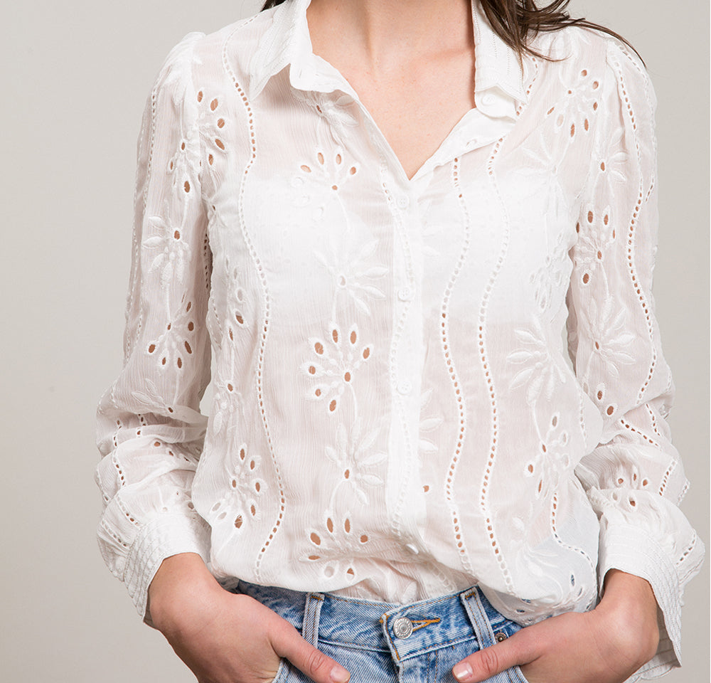 Kerry Eyelet Blouse