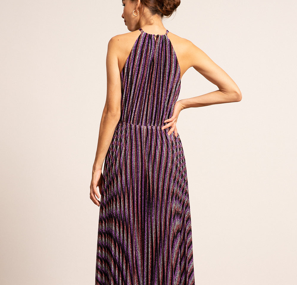 Christina Halter Pleated Dress