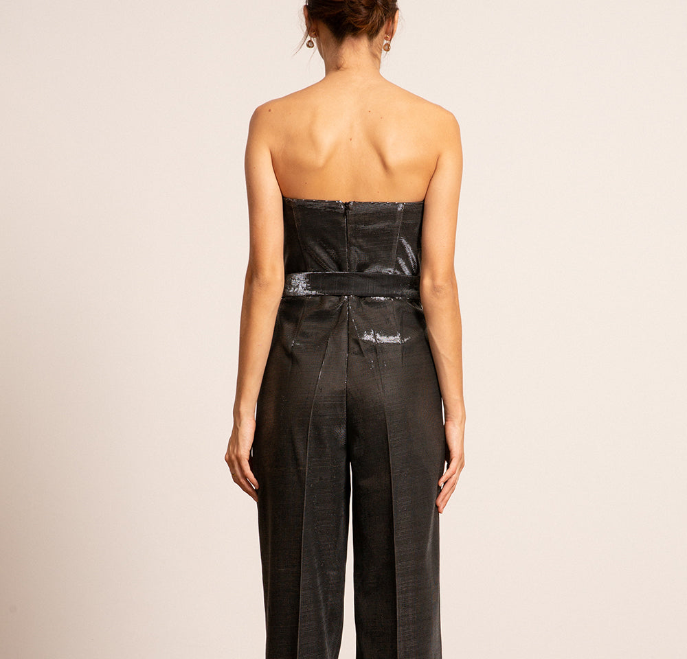 Alex Metallic Jumpsuit