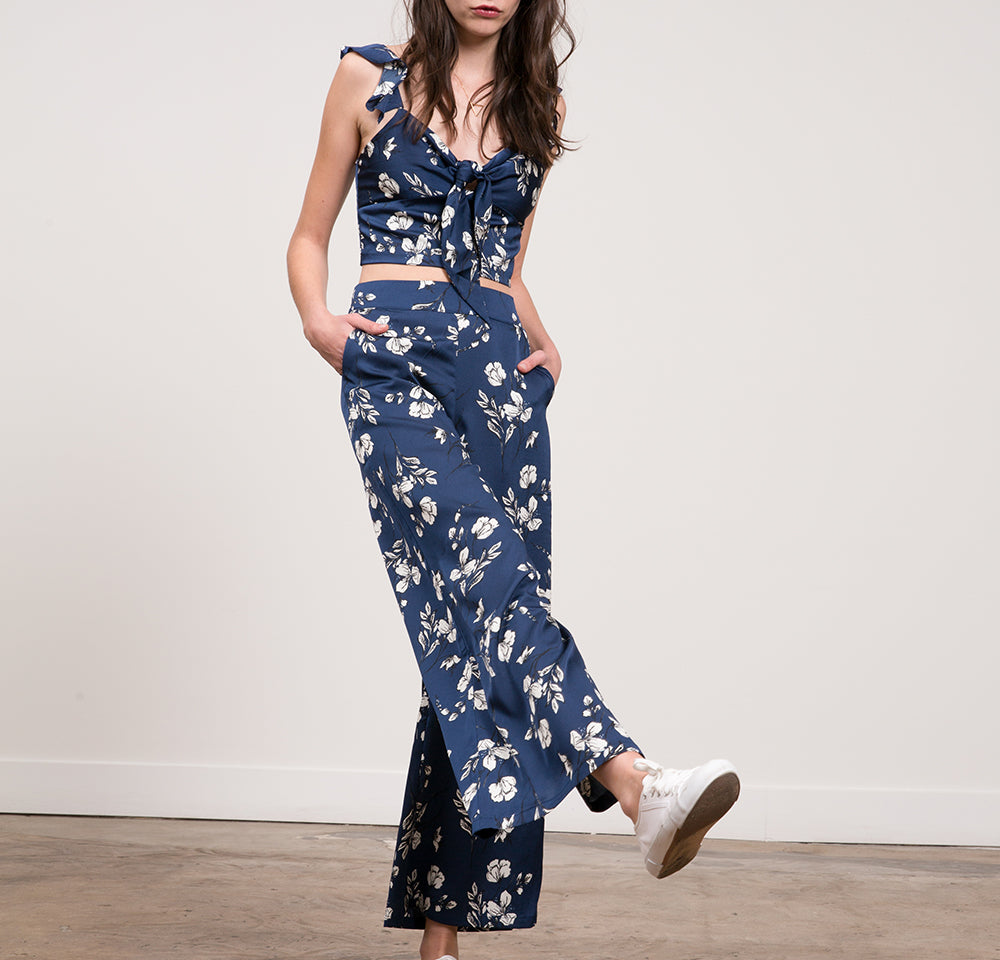 Angeline Floral Palazzo Pant
