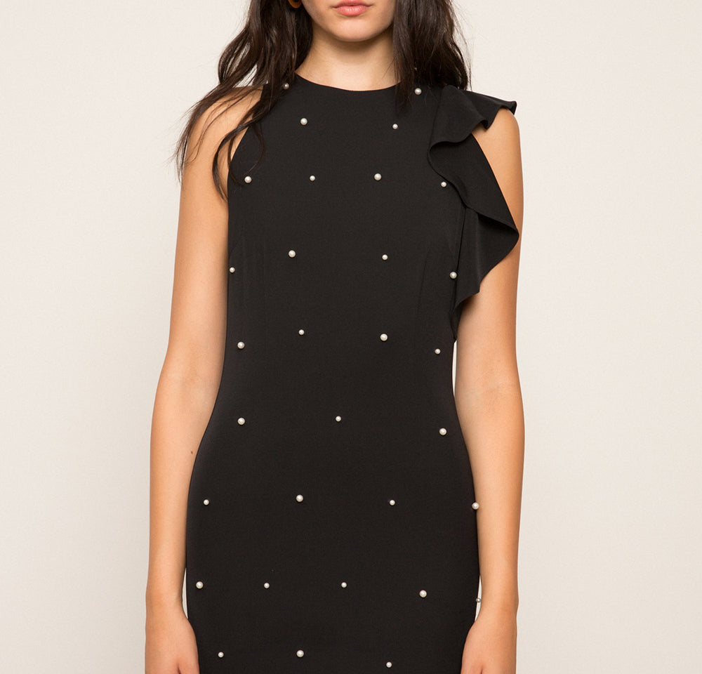 Patricia Pearl Beaded Dress