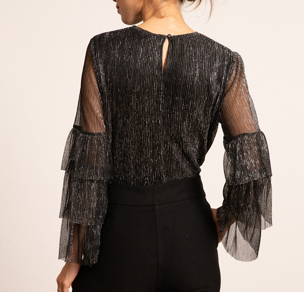 Melina Pleated Top