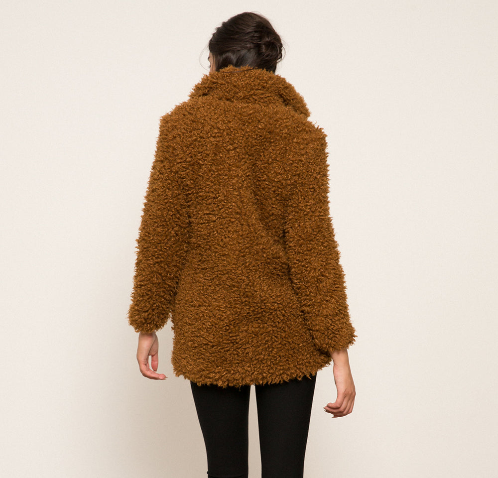 Madilyn Faux Fur Coat
