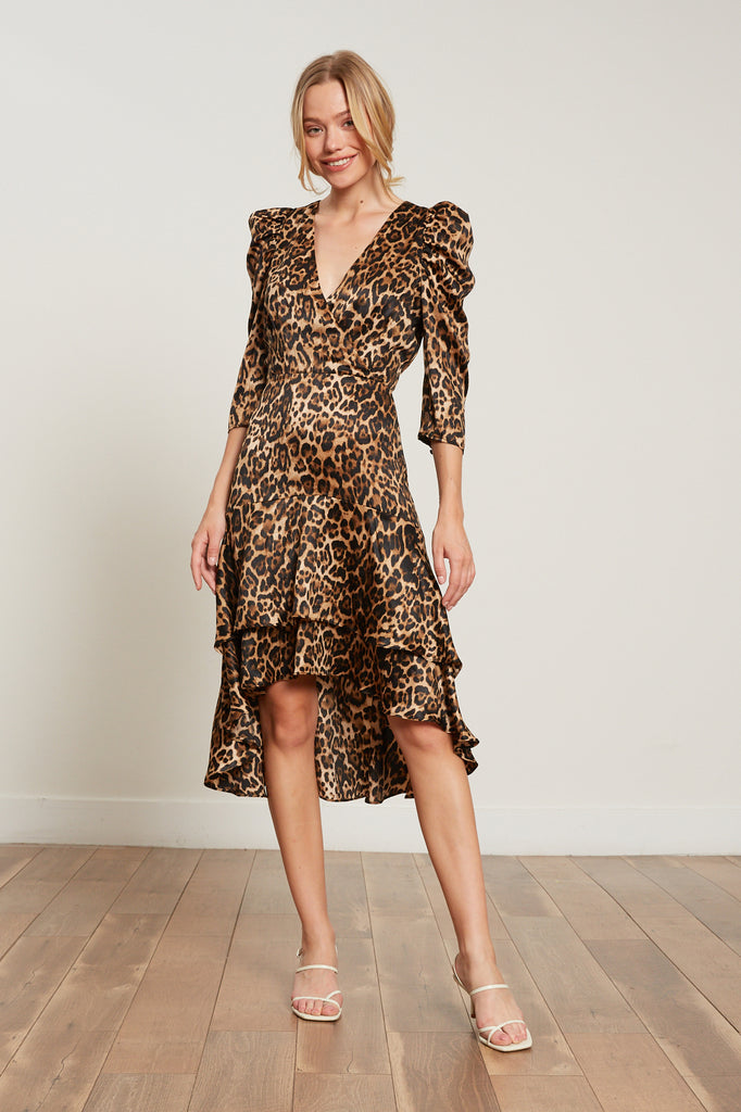Lucy Paris - Drew Leopard Dress