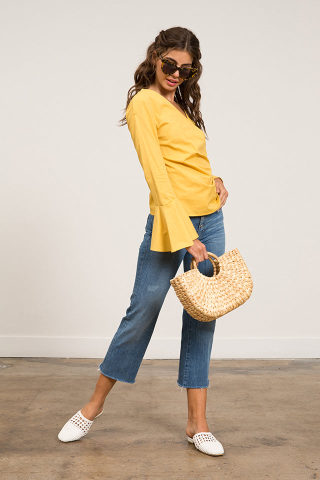 Summer Wrap Top
