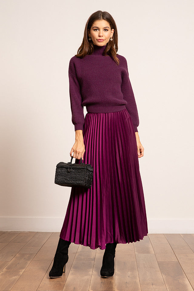 Talia Pleated Skirt