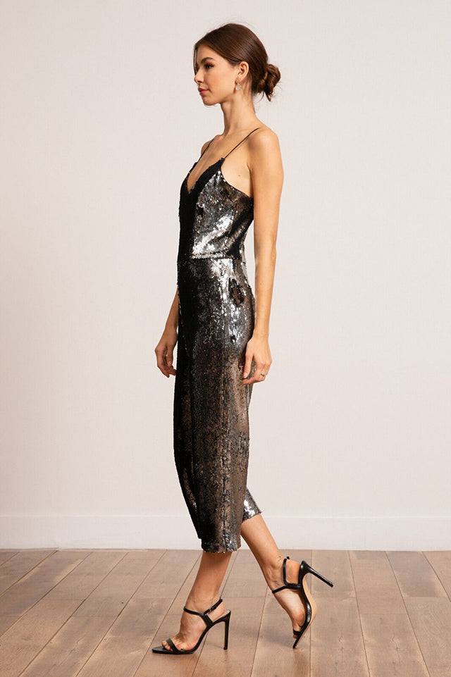 Jeanne Sequined Jumpsuit