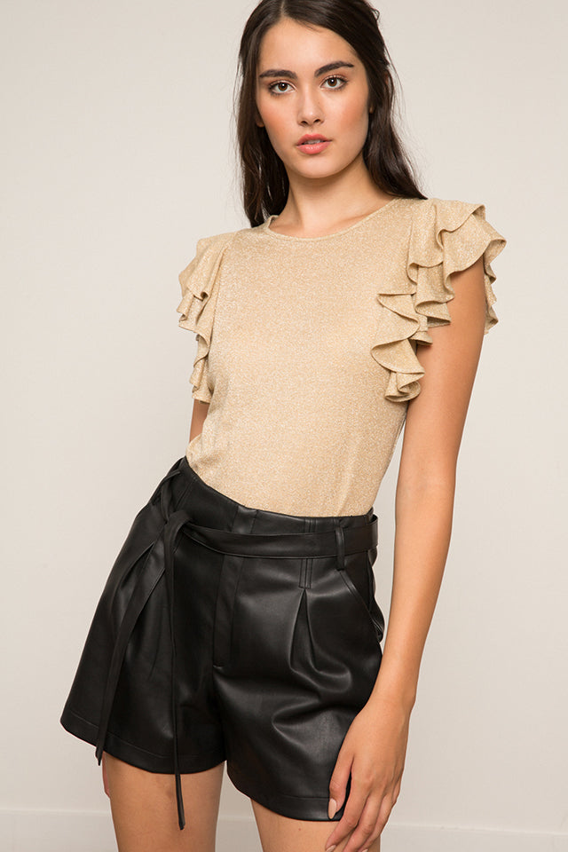 Perry Ruffle Top