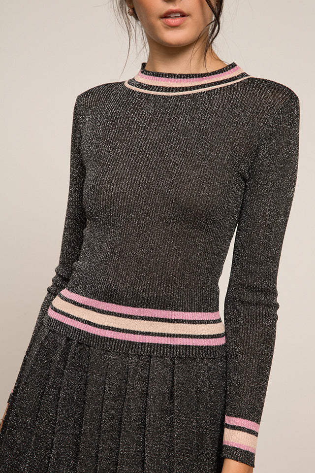 Nicole Ribbed Knit Sweater