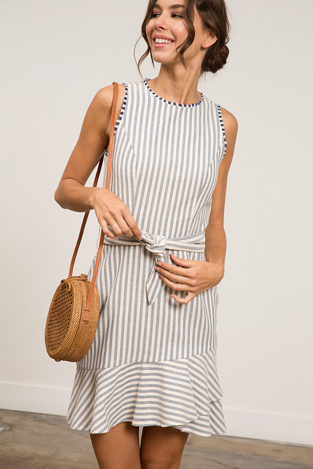 Lara Striped Dress