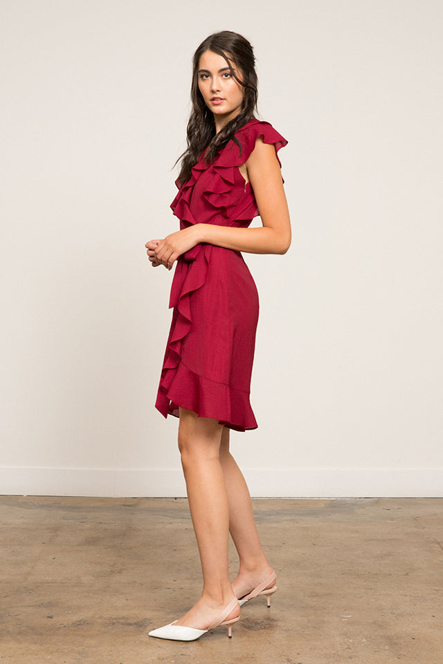 Hermosa Ruffle Dress