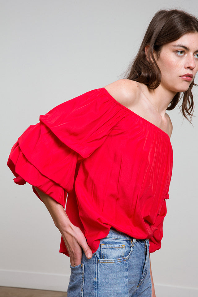 Rhiannon One Shoulder Top