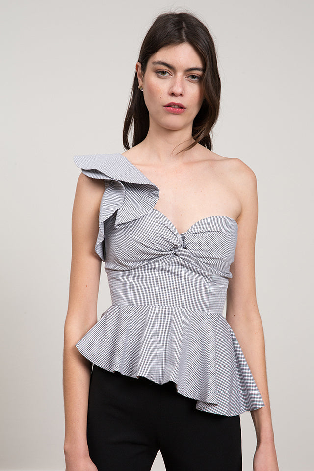 Johanna One Shoulder Top
