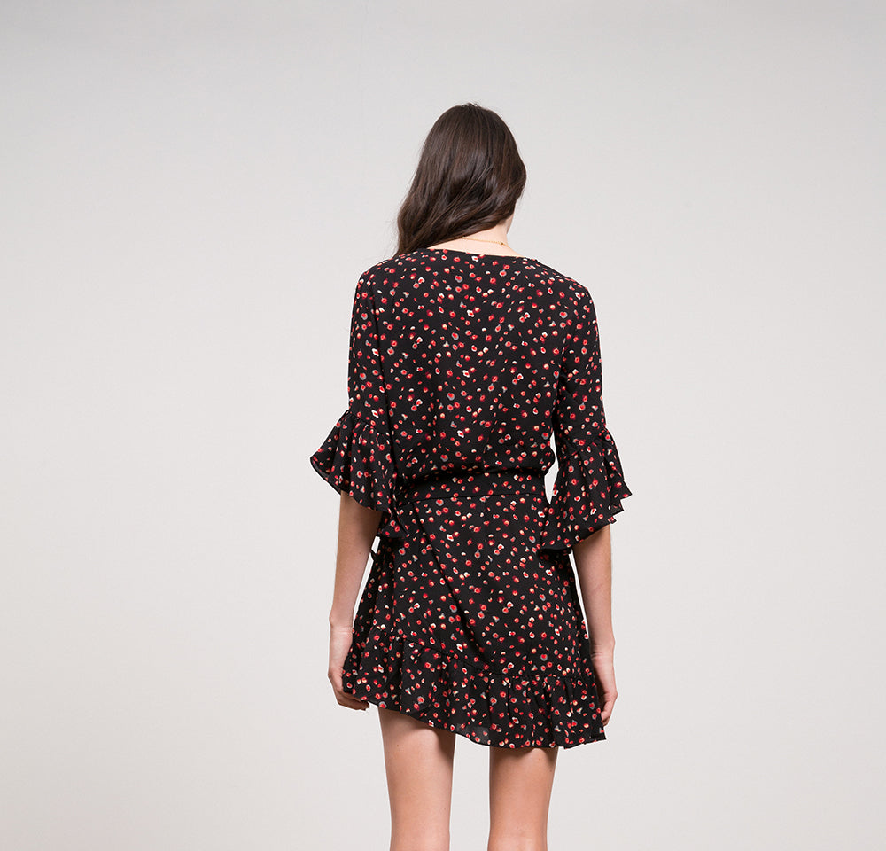 Vanessa Floral Wrap Dress