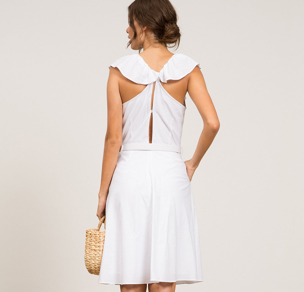 Simone Belted Dress