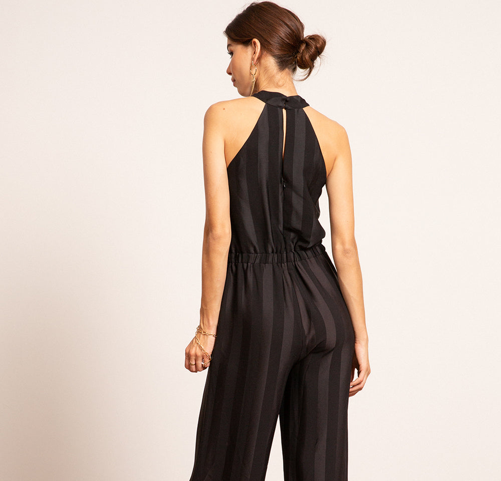 Chloe Cross Neck Jumpsuit