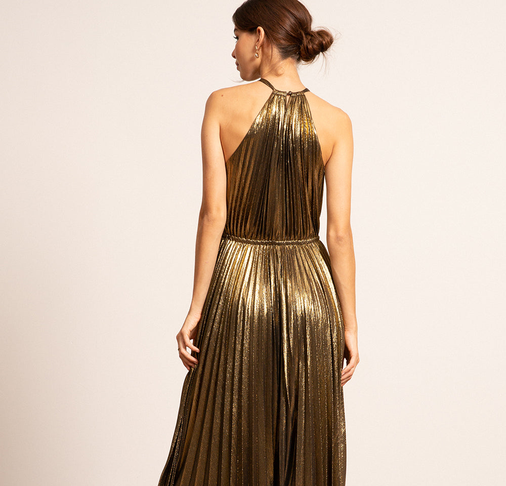 Christina Pleated Dress