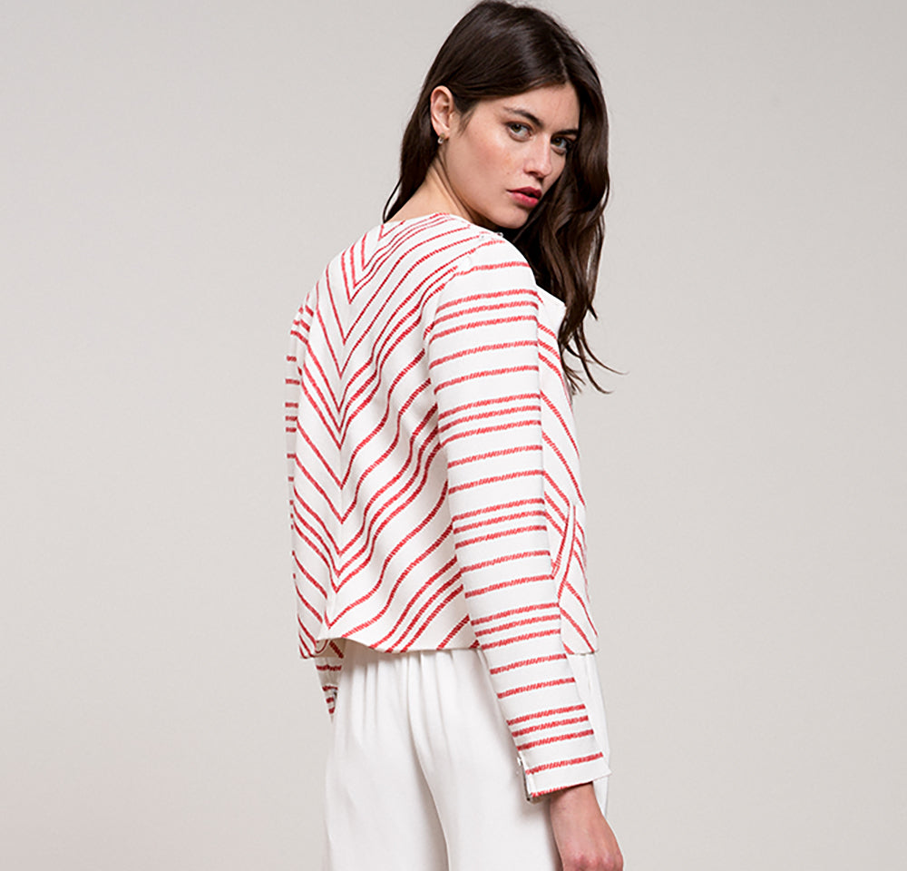 Petra Striped Jacket