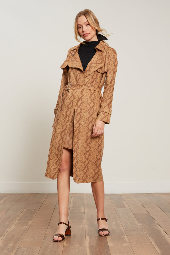 LUCY PARIS - Chloe Snake Coat