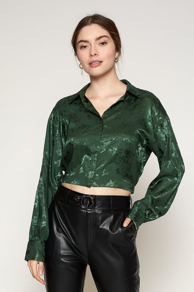 LUCY PARIS - Addison Cinched Blouse