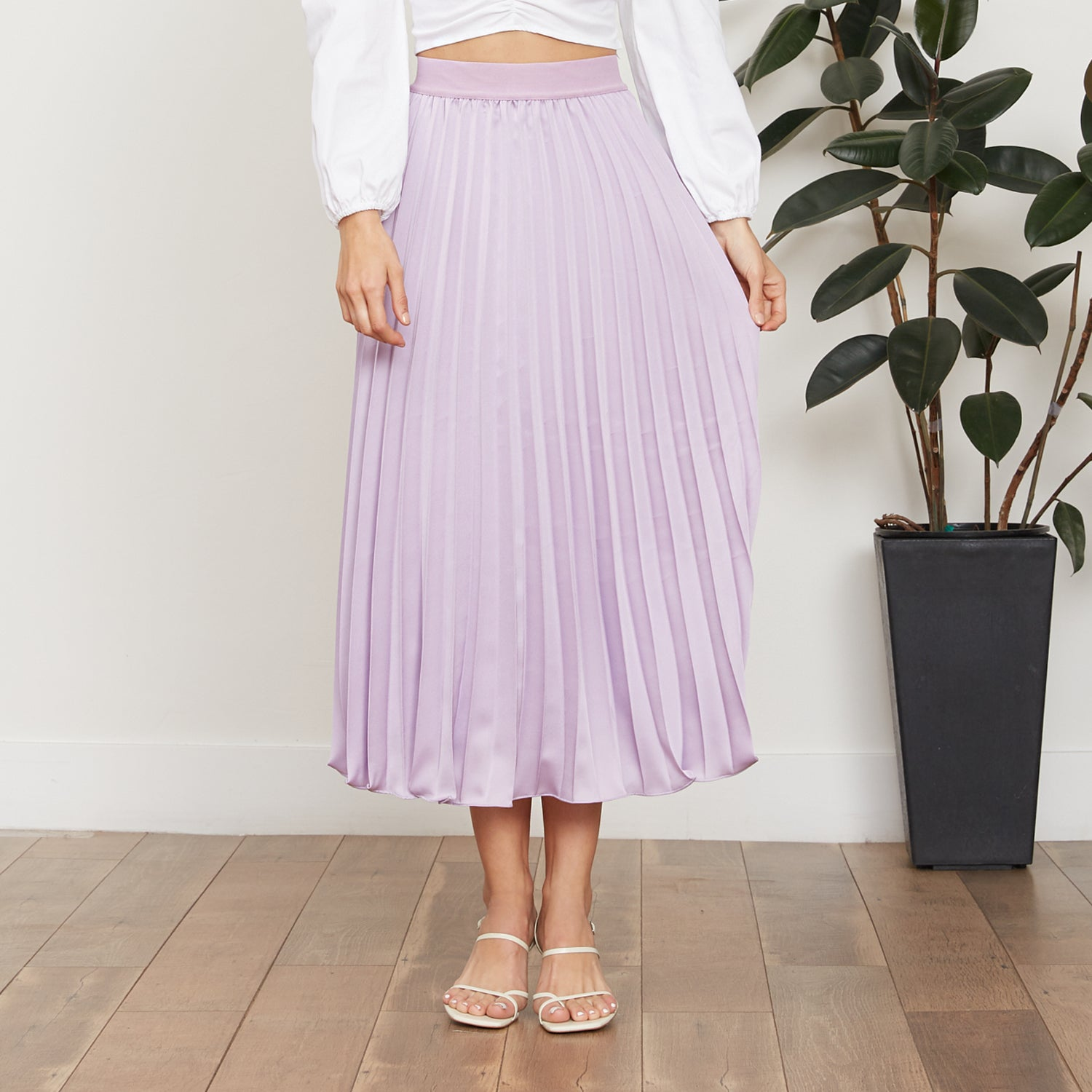 Adeline Pleated Skirt