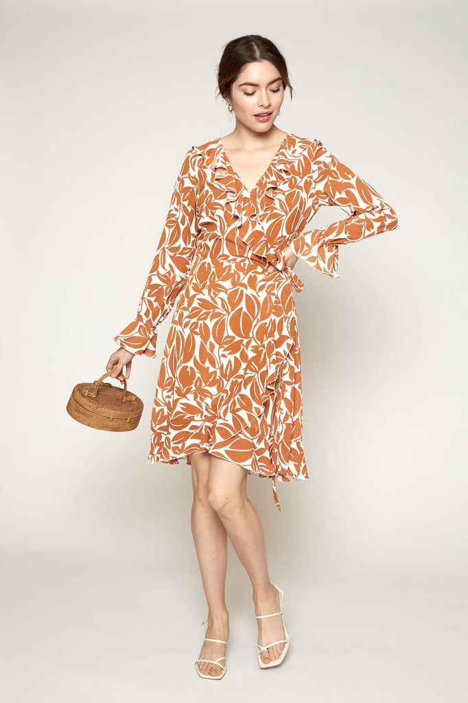 Lucy Paris - Ayla Wrap Dress
