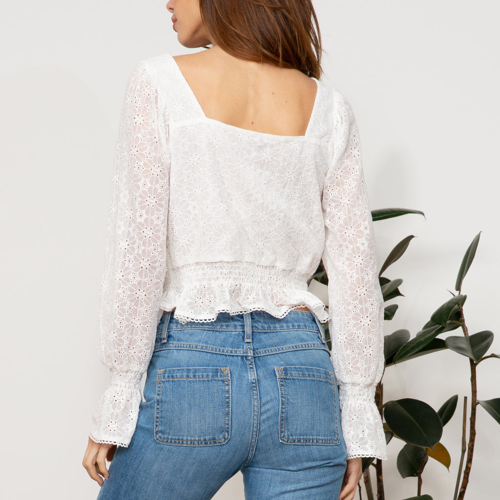 Brielle Lace Top